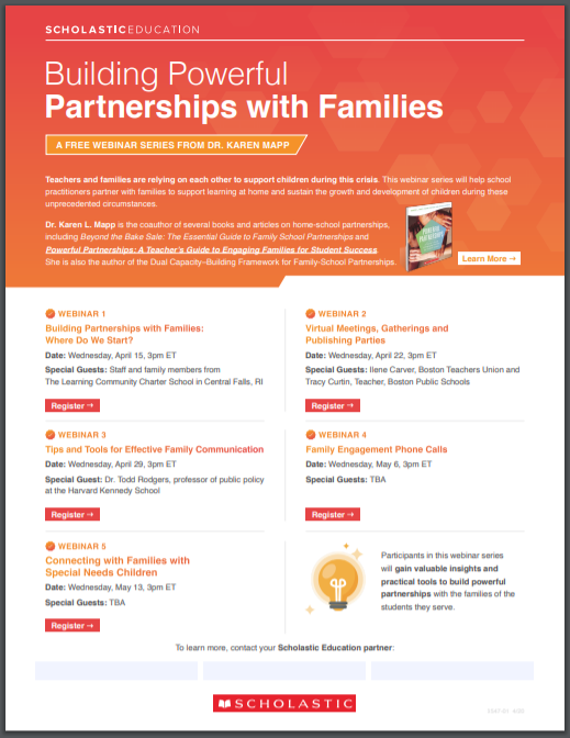 Building Powerful Partnerships with Families