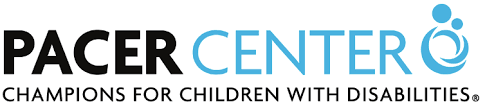 PACER Center Logo: Champion for Children with Disabilities.