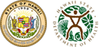 State of Hawaii - Department of Health logos