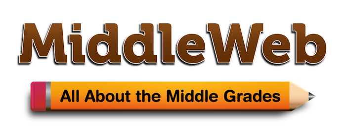 MIddle Web Logo: All About the Middle Grades.