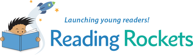 Reading Rockets Logo: Launching Young Readers!