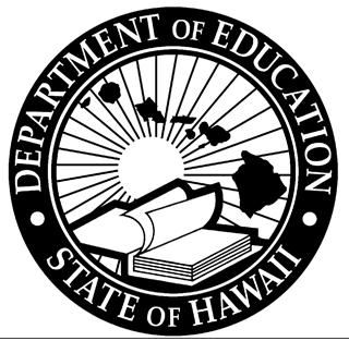 DOE Logo, Hawaii