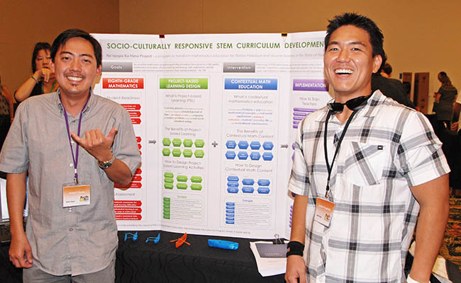 Two CDS personnel presenting at the Pac Rim Conference